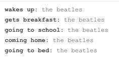 Me in a nutshell. I even mentioned John Lennon in social studies.