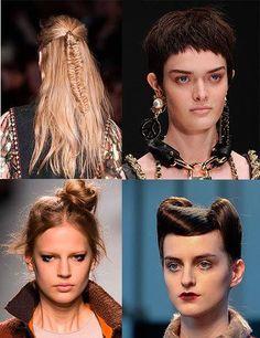 Hairstyles from Milan Fashion Week 2014