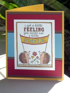 Smile, A Little Smile, Blendabilities, Stampin' Up!, see also http://heidistampinalong.blogspot.ca/2014/06/smile.html