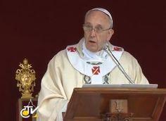 """""""Cristo centro dell'Universo. Cristiani solo con Cristo al centro della vita"""" Papa Francesco chiude l'Anno della Fede"""