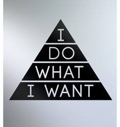 I Do What I Want Decal Black – Buy Me Brunch