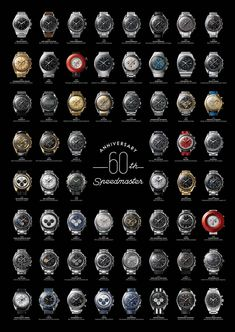 Elke Speedmaster liefhebber moet dit! De Omega Speedmaster 60e verjaardag Poster Ik ben een grote fan van de OMEGA Speedmaster. Dit jaar hebben de Omega speedmaster haar 60e verjaardag; Ik denk persoonlijk de beste horloge ever(!) gemaakt! De Speedmaster de geschiedenis gaat terug tot