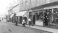 The Tea Rooms, Downham Market, Norfolk: Where the Dalston County Secondary Grammar School for Girls, Hackney, London were evacuated in WW2.