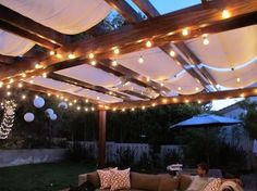 beautifully simple pergola by allie