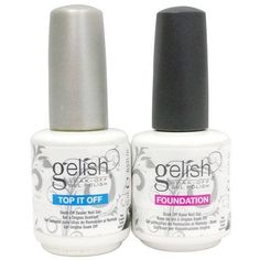 NEW Gelish Dynamic Duo Soak Off Gel Nail Polish  Foundation Base  Top Sealer >>> You can find out more details at the link of the image.Note:It is affiliate link to Amazon. #food