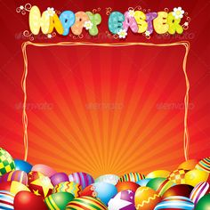 Easter Card Template  #GraphicRiver         Easter Card Template   - vector illustration with simple gradients   - vector graphics with CMYK colors for print   - zip file contains images: AI, EPS, JPG   basket, natural, ornament, vivid, red, bright, letter, title, label, religious, web, color, banner, stylization, hunt, nature, food, cartoon, happy, header     Created: 28February13 GraphicsFilesIncluded: JPGImage #VectorEPS #AIIllustrator Layered: No MinimumAdobeCSVersion: CS Tags…