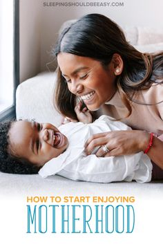Parenting stress can make it hard to enjoy motherhood and being a mom. Learn how to stop feeling stressed and be more carefree.