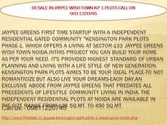 9811220745jaypee plots Noida expressway