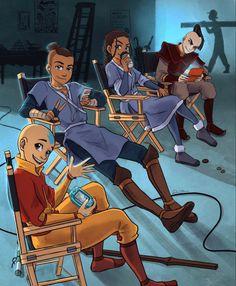 Avatar Aang, Avatar Legend Of Aang, Avatar The Last Airbender Funny, The Last Avatar, Team Avatar, Avatar Airbender, Legend Of Korra, The Last Airbender Characters, Avatar Cartoon