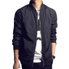 Promotion price Jacket Men Fashion Stand collar Jackets Mens Overcoat Bomber Jacket Men's Casual Zipper jackets jaqueta masculina just only $16.80 - 17.98 with free shipping worldwide  #jacketscoatsformen Plese click on picture to see our special price for you