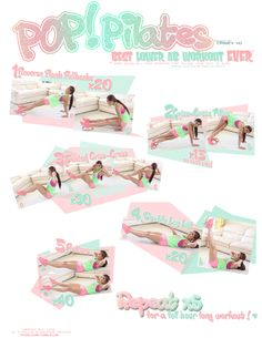 Best Lower Abs Workout Printable! :: POP Pilates :: !!!!!!!! Love it I did one set n it ad my lower abs the mom pooch burning