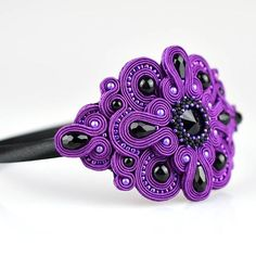 Soutache Necklace, Ring Necklace, Boho Jewelry, Handmade Jewelry, Felt Toys, Jewelry Patterns, Shibori, Bead Weaving, Beaded Embroidery
