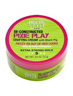De-Constructed Pixie Play - Hair Paste - Garnier Fructis Style- Love this stuff & does great for my pixie.
