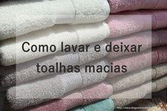 Vanessa Freitas: Como lavar e deixar toalhas macias Ailee, Flylady, Laundry Hacks, Life Organization, Decoration, Christmas Diy, Household, Towel, Perfume