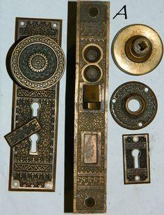 Twist Door Bell antique victorian REPLICA solid brass door hardware ...