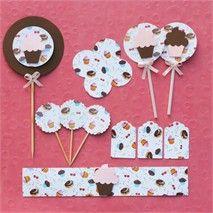 Festa Expressa - Confeitaria - Tuty - Arte & Mimos www.tuty.com.br O kit está disponível a pronta-entrega. É só adquirir no site e você recebe em poucos dias em sua casa, tudo prontinho para usar. Entre em contato com a gente! www.tuty.com.br #festa #personalizada #pronta #party #tuty #bday #chadebebe #baby #shower #cupcake #candy #chocolate #dounut #vintage #pink