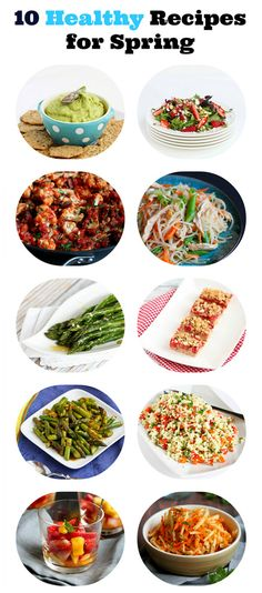 10 Healthy Recipes for Spring...From side dishes to dessert! | cookincanuck.com