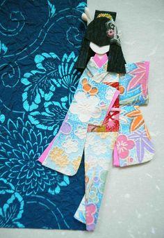 All-purpose handmade card 15_closeup of doll