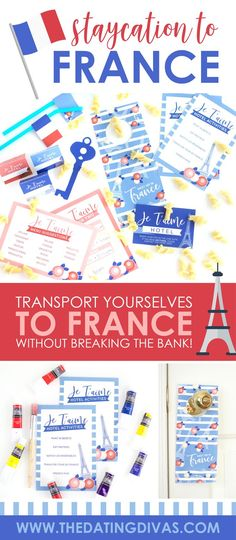 Travel to France TONIGHT! Transport yourselves with this fun, themed staycation! Travel to France without saving up any money at all! Create a French cottage of love right at home using these staycation ideas! Second Year Anniversary Gift, Anniversary Dates, Date Night Ideas For Married Couples, Dream Dates, Holiday Dates, Teen Romance, Romance Movies, Geography Lessons, Dating Divas