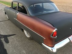 55 Chevy 1955 Chevy Bel Air, 1955 Chevrolet, Traditional Hot Rod, Truck Engine, Hot Rod Trucks, Drag Cars, Car Show, Custom Cars, Vintage Cars