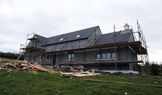 New detached dwelling in Ballymore Eustace, Ireland feature KORE Passive Slab and KORE External insulation. External Insulation, Farmhouse Renovation, Ireland Homes, Passive House, New Builds, Case Study, Building A House, House Design, Cabin