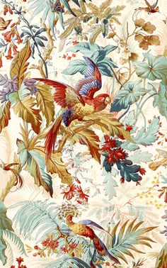 Furnishing fabric. Étoffe d'ameublement, Mulhouse, Manufacture Thierry-Mieg, Alsace vers 1872.