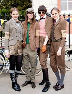Rugby Ralph Lauren Presents The Rugby Tweed Run Tweed Ride, Estilo Dandy, Estilo Preppy, Mode Style, Preppy Style, British Style, Dapper, Winter Outfits, Vintage Fashion