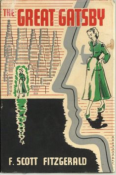 Rare 1948 United Kingdom cover of the novel The Great Gatsby