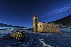 Lost religion 4 by Ognen Bojkovski on 500px  --- Church, Mavrovo, Macedonia