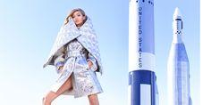 Gigi Hadid's Space Odyssey  - HarpersBAZAAR.com