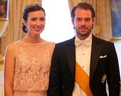 Prince Felix and Princess Claire -- Gala - 2016 Luxembourg National Day Celebrations