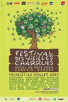 Vielles Charrues | Finistère Bretagne | #myfinistere