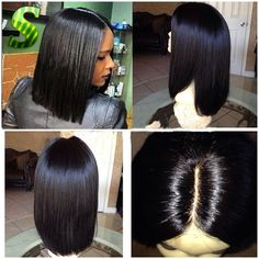 86.62$  Buy here - http://ali9fi.worldwells.pw/go.php?t=32665454207 - Human Hair Bob Wigs Silky Straight Brazilian Virgin Hair Bob Haircut Wigs Full Lace Front Wigs African American Short Bob Wigs 86.62$