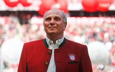 Uli Hoeness is poised to return as Bayern Munich president after the German champions said he had decided to stand for election following his release from prison.