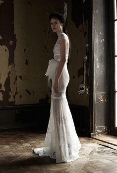 Brides.com: . Wedding dress by Vera Wang