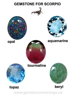 gemstone for scorpio