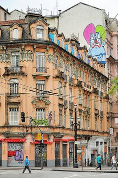 Sao Paulo, Brazil  Esquina da Av. São João com Largo Paissandu