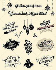 Christmas Elements and Symbols - Christmas Seasons/Holidays