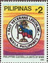 Stamp: Guerrilla Units of World War II (Philippines) Mi:PH 2574
