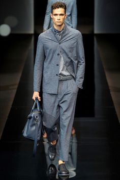 Sfilata Moda Uomo Giorgio Armani Milano - Primavera Estate 2017 - Vogue