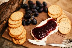 Trouve Gathering: simple cheese + crackers