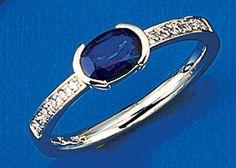 Damen-Ring 12 Diamant-Brillanten 14 Karat (585) Weißgold 0.07 ct. 1 Saphir 58 (18.5) Dreambase http://www.amazon.de/dp/B00AWAIOI8/ref=cm_sw_r_pi_dp_yb.fub0A6RPHC