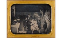 Early Operation Using Ether for Anesthesia Artist/Maker: Southworth & Hawes (American, active 1844 - 1862) Place: Boston, Massachusetts, United States  Date: late spring 1847 Daguerreotype 14.6 x 20 cm (5 3/4 x 7 7/8 in.) Getty Museum