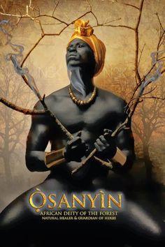 No Brasil, é conhecido como: Ossaniyn, Ossaim, Ossãe, Ossain é o orixá Deus da floresta. Curador natural, guardião das ervas medicinais, folhas sagradas e litúrgicas, que são utilizadas numa mistura especial chamada de abô.