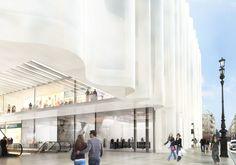 a f a s i a: Sanaa Library Architecture, Architecture Collage, Landscape Architecture Design, Facade Architecture, Architect Fees, Residential Architect, Renovation Paris, Building Skin, Paris 3