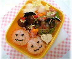 Halloween Jack-O-Lantern Bento Box Recipe