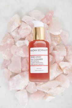 Rinse Away Oil Cleanser Rose Quartz Infused - Shop All Organic Oil, Makeup Remover, Rose Quartz, Cleanser, Perfume Bottles, Skincare, Luxury, Natural, Shop