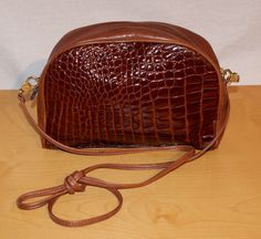 Vintage Brown Leather Pocketbook Leather Purse Eighties Shoulder Bag Borsa Pochette Donna Vintage Originale Anni '80 Marrone Pelle Tracolla di BeHappieWorld su Etsy