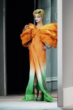 spring/summer 2007 haute couture #throwback #galliano