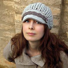 Ravelry: Sakina Newsboy Hat Crochet Pattern pattern by Viktoria Gogolak